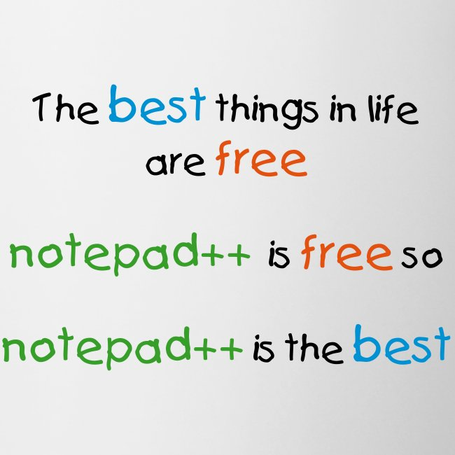 Notepad++ is the best