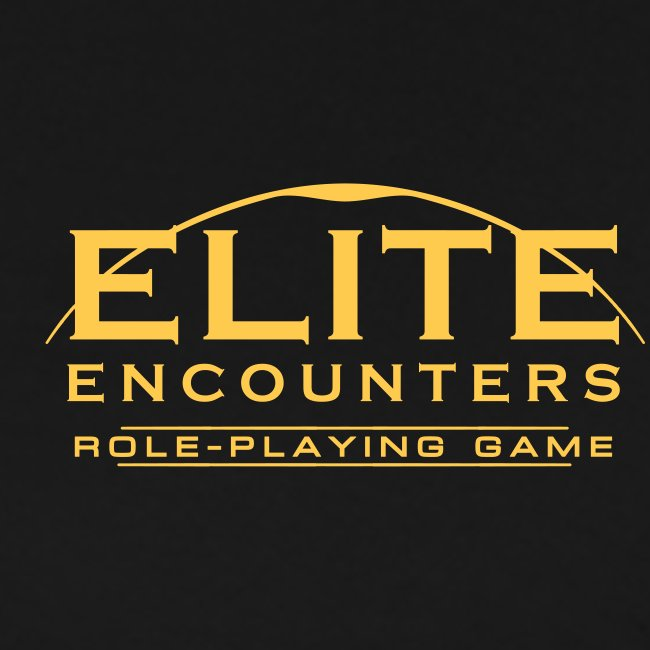 Elite Encounters Logo Mens T-shirt