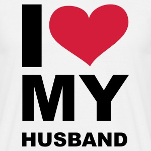 I LOVE my Husband - eushirt.com - NO - T-skjorte for menn