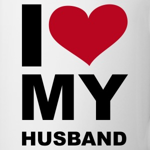 I LOVE my Husband - eushirt.com - PL - Kubek