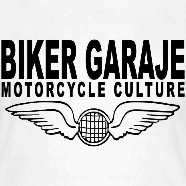 Motorcycle Culture Biker Garaje
