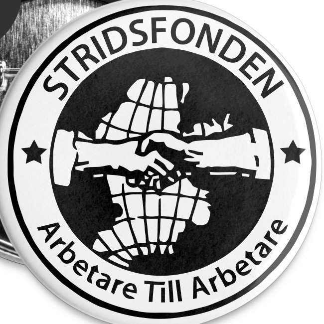 Stridsfonden - Badge - 56 mm
