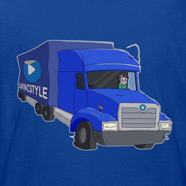 Vincent in vrachtwagen - Shirt (PUBER 12 T/M 14 JAAR)