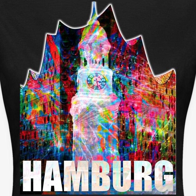 Elphi & Michel Hamburg Elbphilharmonie Frauen T-Shirt