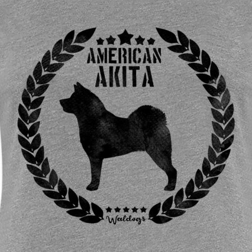 American Akita Army Black