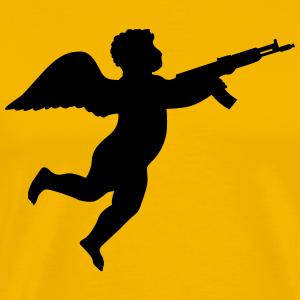 Engel mit Gewehr