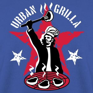 Urban Grilla, barbecue chef / cook - Men's Sweatshirt