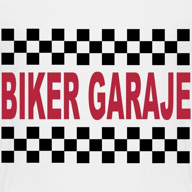 Cafe Racer Biker Garaje
