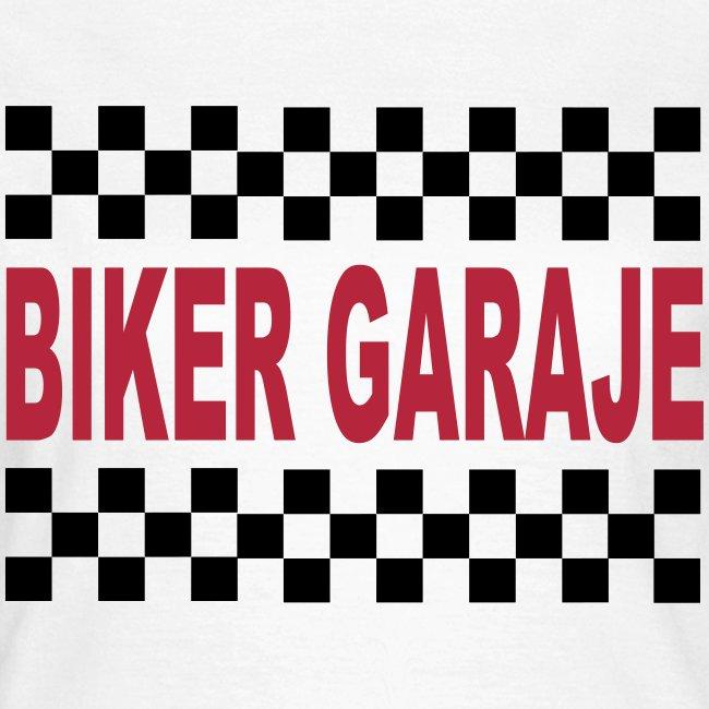 Cafe Racer Biker Garaje for Girls