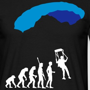 evolution_fallschirm Tee shirts - T-shirt Homme