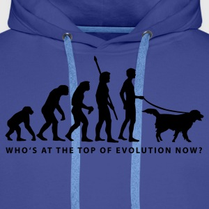 evolution_dog_b Sweat-shirts - Sweat-shirt à capuche Premium pour hommes