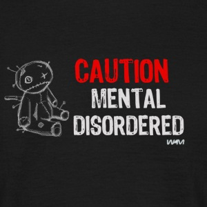 Negro mental disordered by wam Camisetas - Camiseta hombre