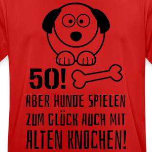 """Geburtstag T-Shirts mit """"50 Alter Knochen"""""""