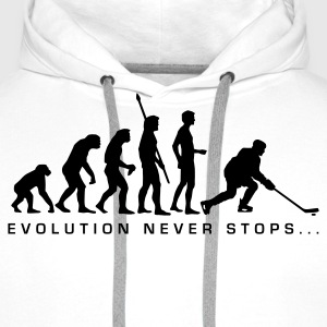 evolution_eishockey_b Sweat-shirts - Sweat-shirt à capuche Premium pour hommes