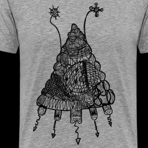 Noahs Kritzelmonster 7 (für helle Shirts)