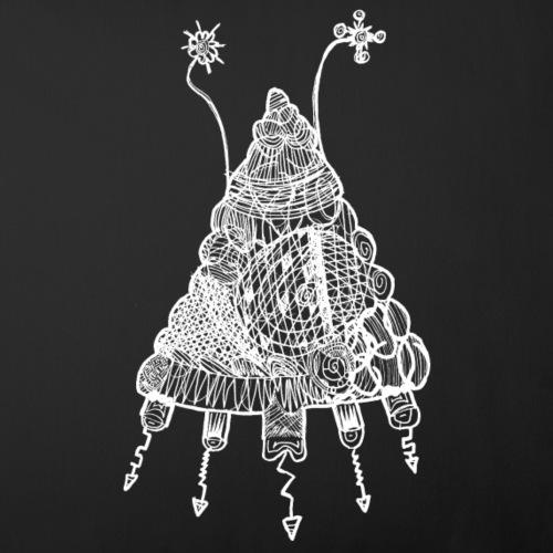 Noahs Kritzelmonster 7 (für dunkle Shirts)