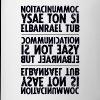 communication black sixnineline - Tasse