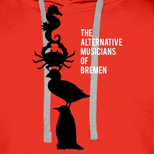 The alternative musicians of Bremen Pullover - Männer Premium Hoodie