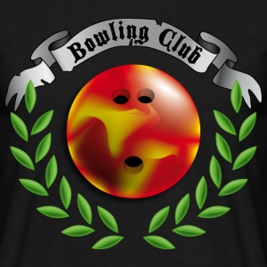 bowling_club T-shirts - Mannen T-shirt