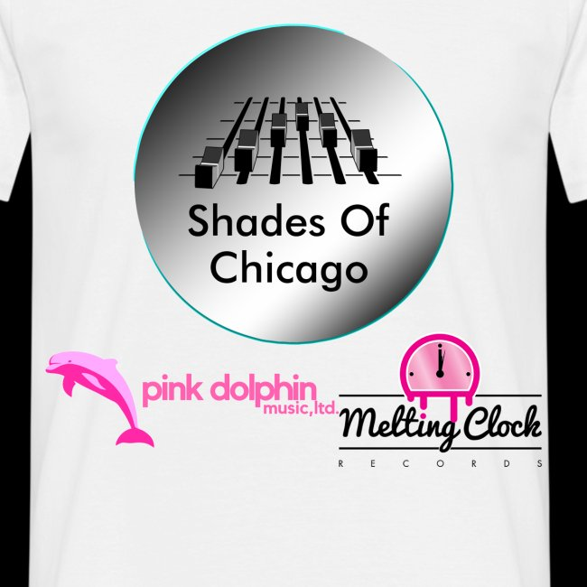 Shades Of Chicago logo t-shirt