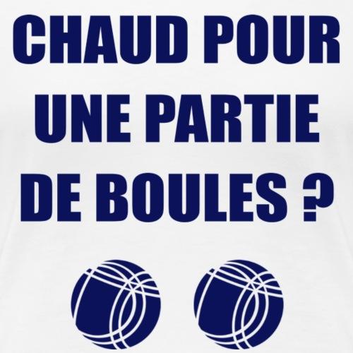 Chaud Pour Boules - bleu