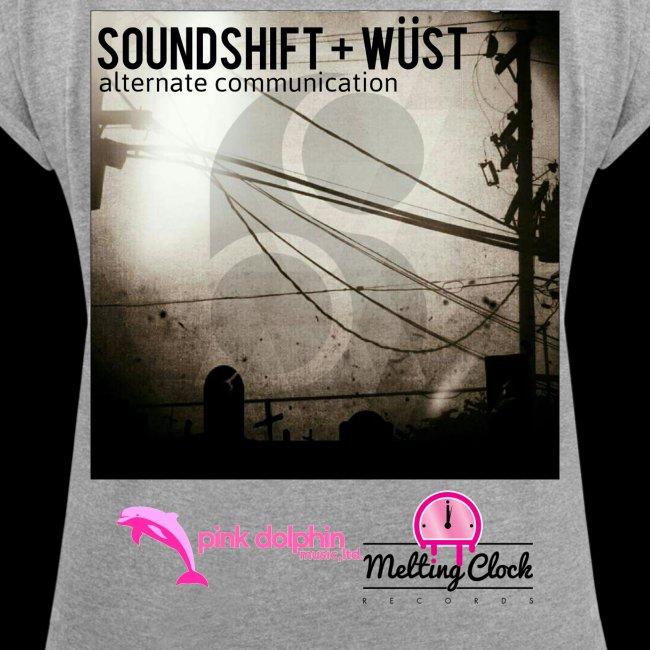 SOUNDSHIFT and WÜST - Alternate Communication Lady's t-shirt