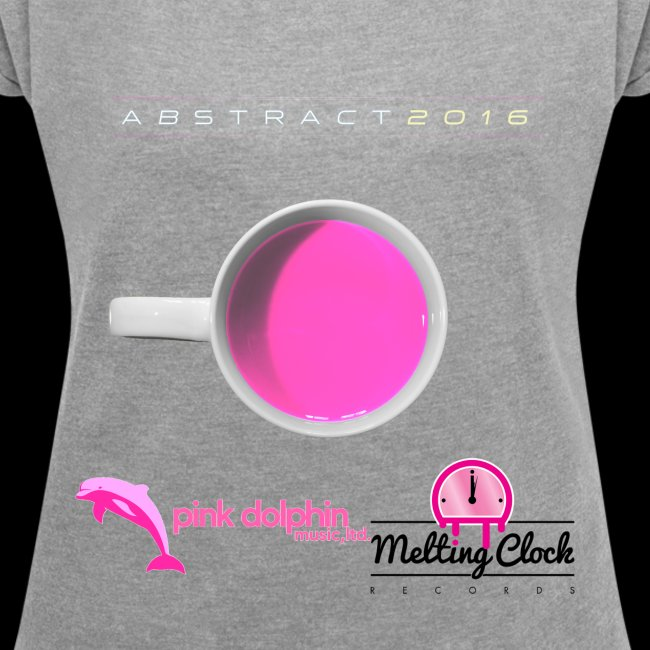 Abstract 2016 compilation album Lady's t-shirt
