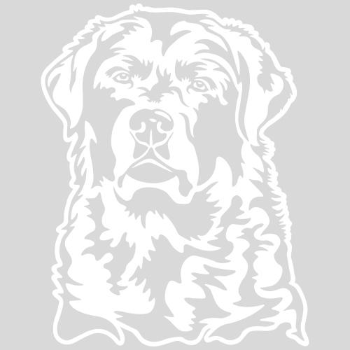 Labradorkopf *weiss*
