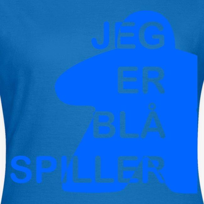 Jeg er blå spiller