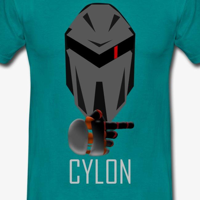Spilleren til høyre er Cylon
