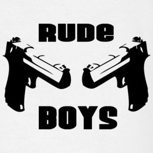 Wit RUDE BOYS T-shirts - Mannen T-shirt