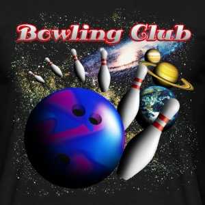 bowling_space_a T-skjorter - T-skjorte for menn