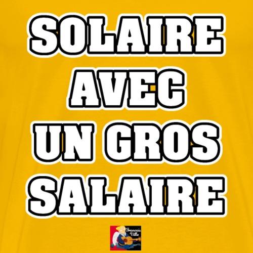 SOLAIRE AVEC UN GROS SALAIRE - JEUX DE MOTS