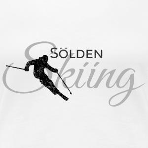 Sölden Skiing Ski (Schwarz/Grau)