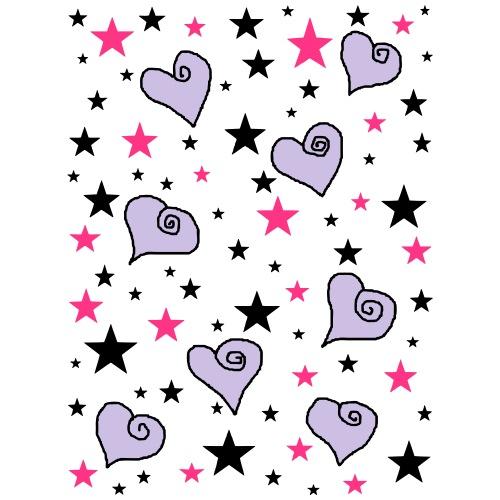 Sterne und Herzen