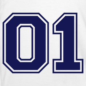 White/navy 01 Men's T-Shirts - Men's Ringer Shirt