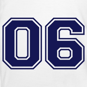 White/navy 06 Men's T-Shirts - Men's Ringer Shirt