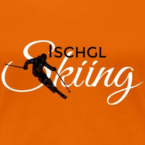 Ischgl Skiing Ski (Schwarz/Weiß)