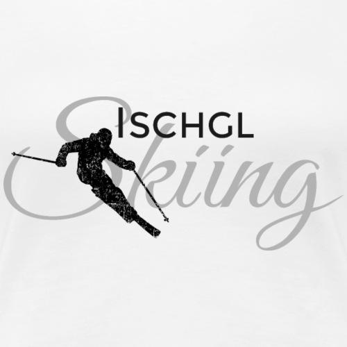 Ischgl Skiing Ski (Schwarz/Grau)