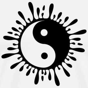 yin yang aus Tropfen