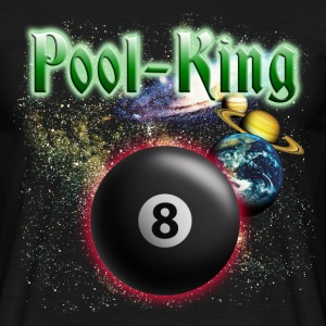 pool_king_space T-shirts - Herre-T-shirt