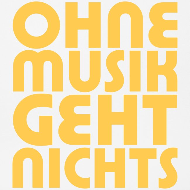 Ohne Musik - SUTO Mousepad