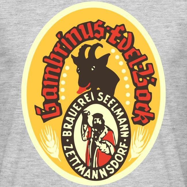 T-Shirt Brauerei Seelmann Retro Bockbier verschiedene Farben