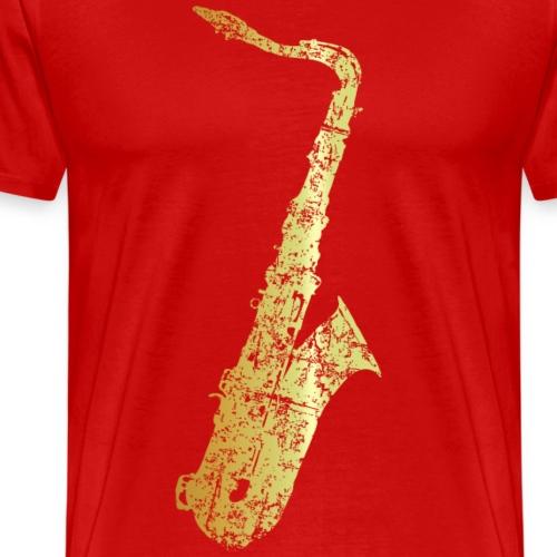 Saxophon (Gold patiniert)
