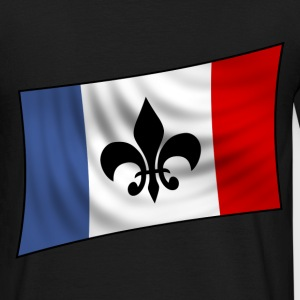 Noir new french flag T-shirts - T-shirt Homme