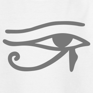 White Eye of Horus Kids' Shirts - Teenage T-shirt