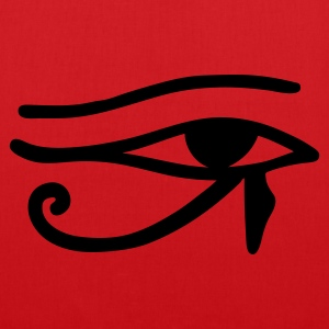 Red Eye of Horus Bags  - Tote Bag