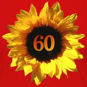 """Geburtstag T-Shirts mit """"Sonnenblume zum 60. Geburtstag"""""""