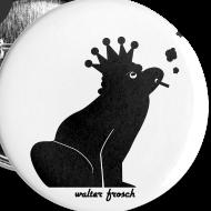 Motiv ~ 5x Anstecker Frosch (32 mm)