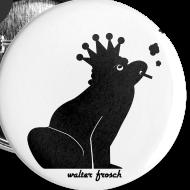 Motiv ~ 5x Anstecker Frosch (25 mm)